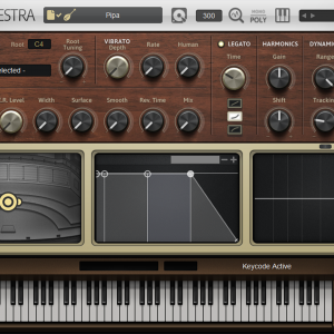 Pipa VST High Resolution GUI